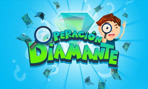 operacion diamante juego en vivo para niños escape room alicante